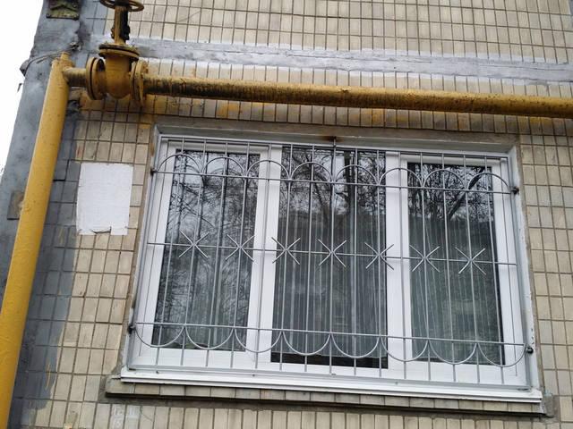Сварные решетки на окна 3