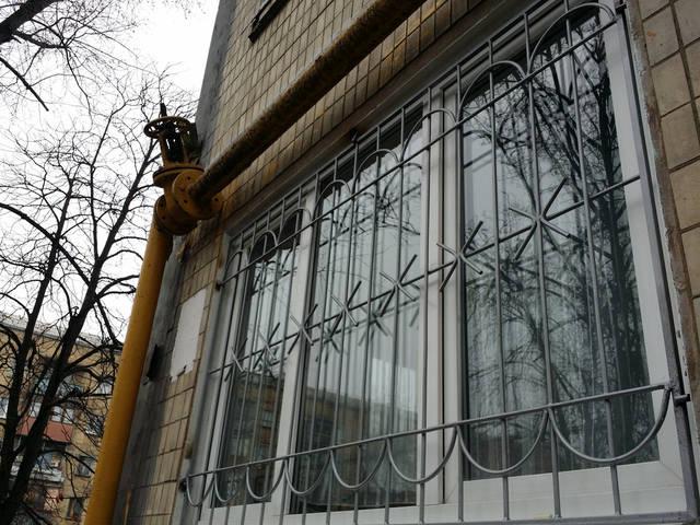Сварные решетки на окна 4