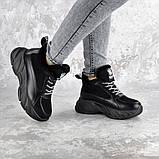 Кроссовки женские зимние Fashion Freewill 2359 37 размер 24 см Черный, фото 5