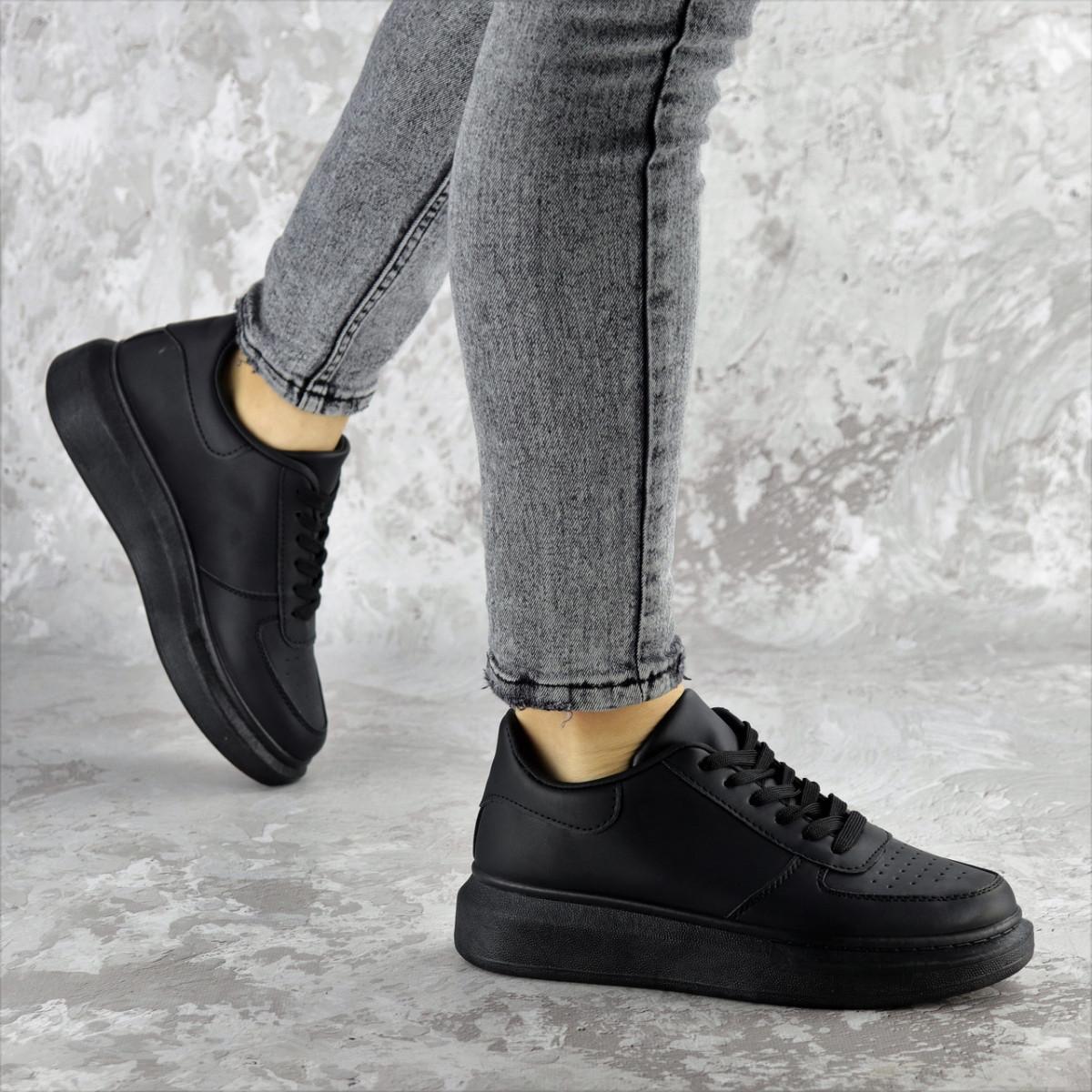 Кроссовки женские Fashion Modlaun 2384 36 размер 23,5 см Черный