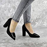 Туфли женские на каблуке Fashion Mugsley 2376 35 размер 23 см Черный, фото 3