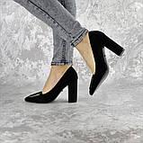Туфли женские на каблуке Fashion Mugsley 2376 35 размер 23 см Черный, фото 10