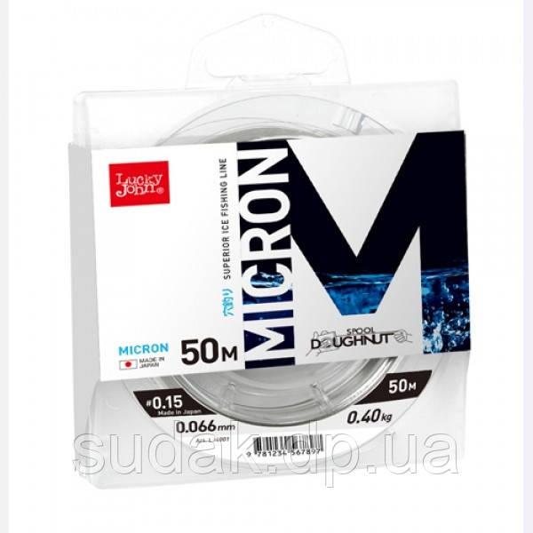 Леска монофильная зимняя LUCKY LOHN MICRON 0.06mm/50m