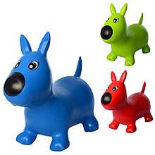1592 Прыгуны-собачки 1300г, 3 цвета, в кульке, 29-25-10см