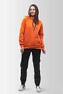 Худи утепленный Vsetex Warm Оранжевый, фото 2