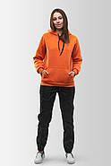Худи утепленный Vsetex Warm Оранжевый, фото 3