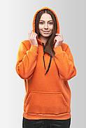 Худи утепленный Vsetex Warm Оранжевый, фото 4