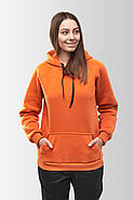 Худи утепленный Vsetex Warm Оранжевый, фото 5