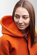 Худи утепленный Vsetex Warm Оранжевый, фото 6