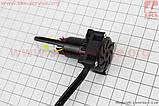 Лампа фары диодная LED-4 SUPER универсальная (к-кт разных креплений), с стабилизатором + стробоскоп, фото 2