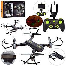 816w-30w Квадрокоптер Z р/у, аккум, 28см,камера, Wi-Fi, USBзар,2цвета, в кор-ке, 38.5