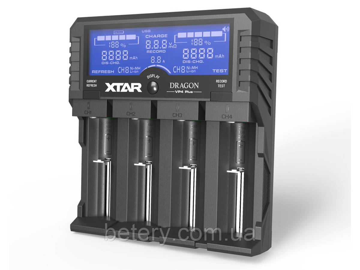 Зарядное устройство Xtar VP4 PLUS