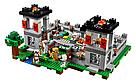 """Конструктор майнкрафт BELA Minecraft """"Крепость"""" 990 детали , фото 2"""