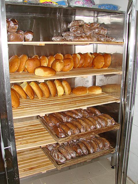 Шкаф для хлеба из нж 201 700х600х1800 4 полки