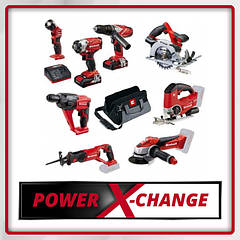 Аккумуляторные инструменты Einhell The Power X-Change system