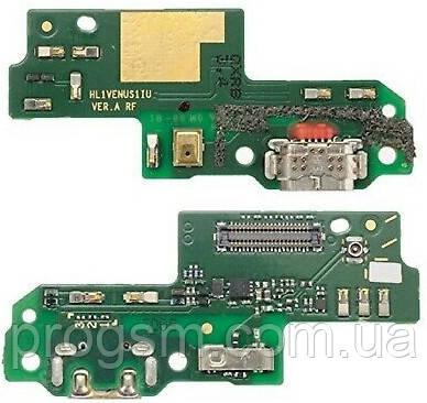 Разъем зарядки Huawei P9 Lite / G9 Lite / Honor 8 Smart (с платкой) Original
