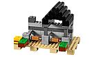 """Конструктор майнкрафт BELA Minecraft """"Крепость"""" 990 детали , фото 4"""