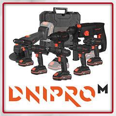 Аккумуляторные инструменты Dnipro-M