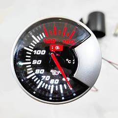 Указатель температуры масла стрелочный Ket Gauge 602703 на ножке черный корпус Ø60мм прибор датчик