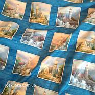 58012 Маяк (купон). Декоративные ткани. Хендмейд ткани., фото 4