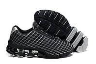 Кроссовки мужские Adidas Porsche Design VI (адидас порше) черно-серые