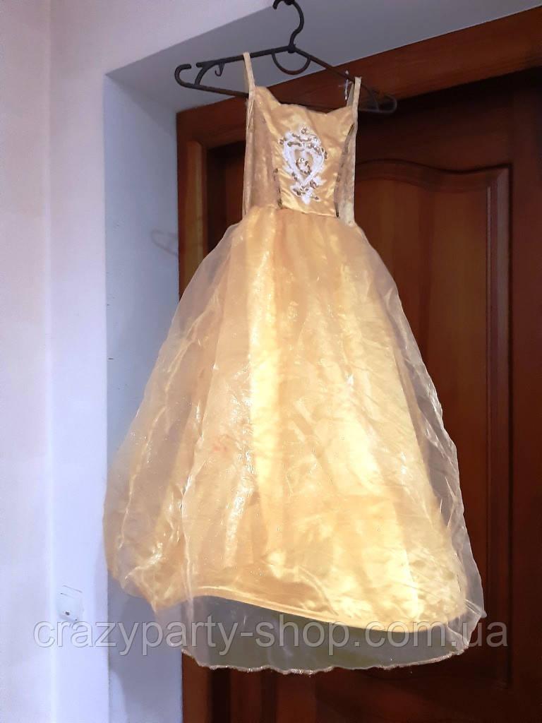 Костюм карнавальный бальное платье принцесса,  122 см лет б/у