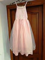 Костюм карнавальний бальне плаття балерина 128 см б/у