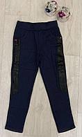 Леггинсы утепленные для девочек оптом, 134-164 см,  № ZOL-Cq7705