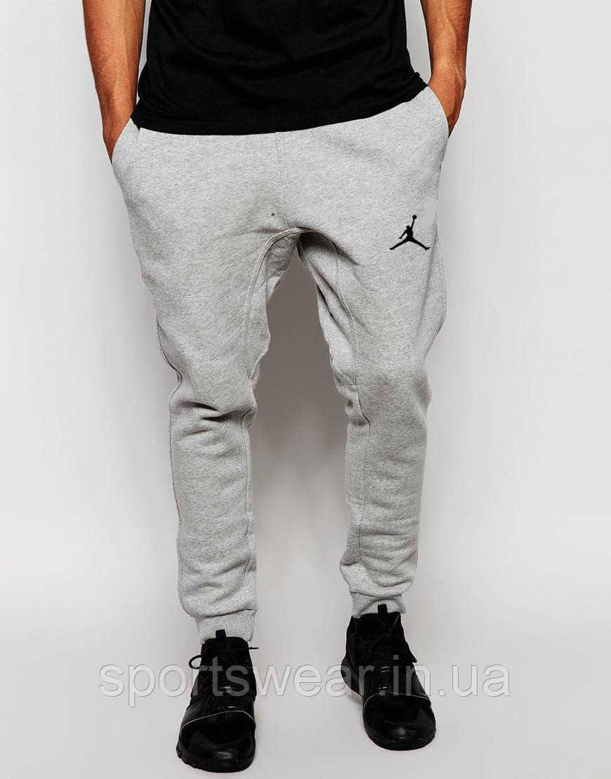 """Чоловічі спортивні штани сірі Jordan   Джордан Спортивні """""""" В стилі Jordan """""""""""