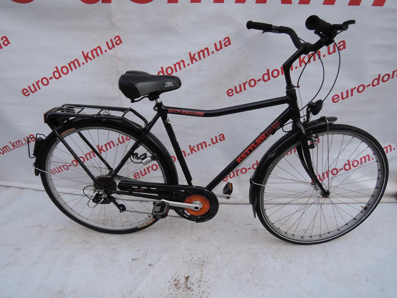 Городской велосипед Kettler alu red 28 колеса 6 скоростей