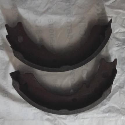 Колодка гальмівна стоянкового гальма (ручника) FOTON 1043, FOTON 1049 ФОТОН, фото 2
