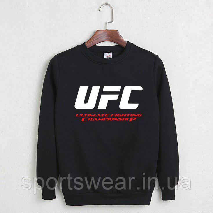 Свитшот черный UFC