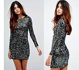 """Женское облегающее платье с пайетками """"Kerry""""В И, фото 3"""