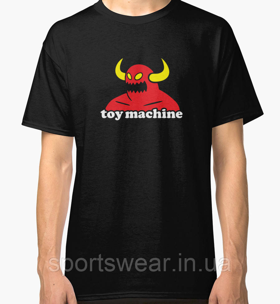 Футболка черная Toy Machine Devil Logo мужская