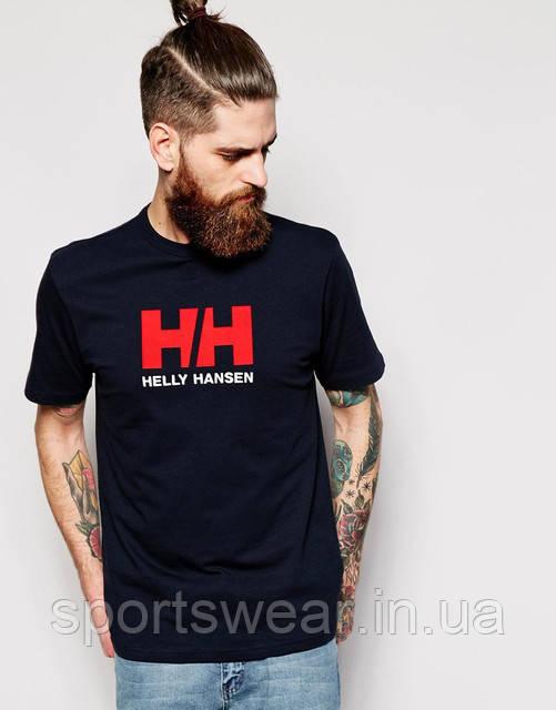 Мужская синяя Футболка HELLY HANSEN