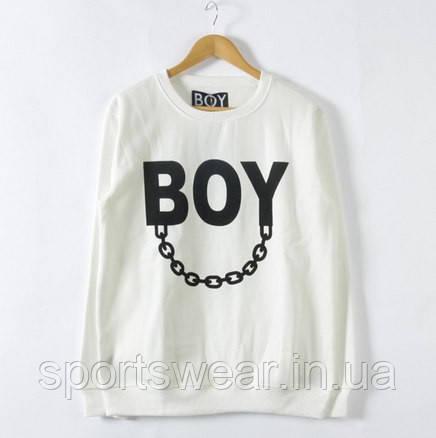 Свитшот белый мужской BOY London Бой | Кофта
