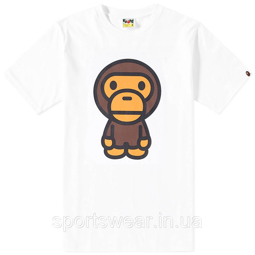 Футболка A BATHING APE Monkey Original мужская