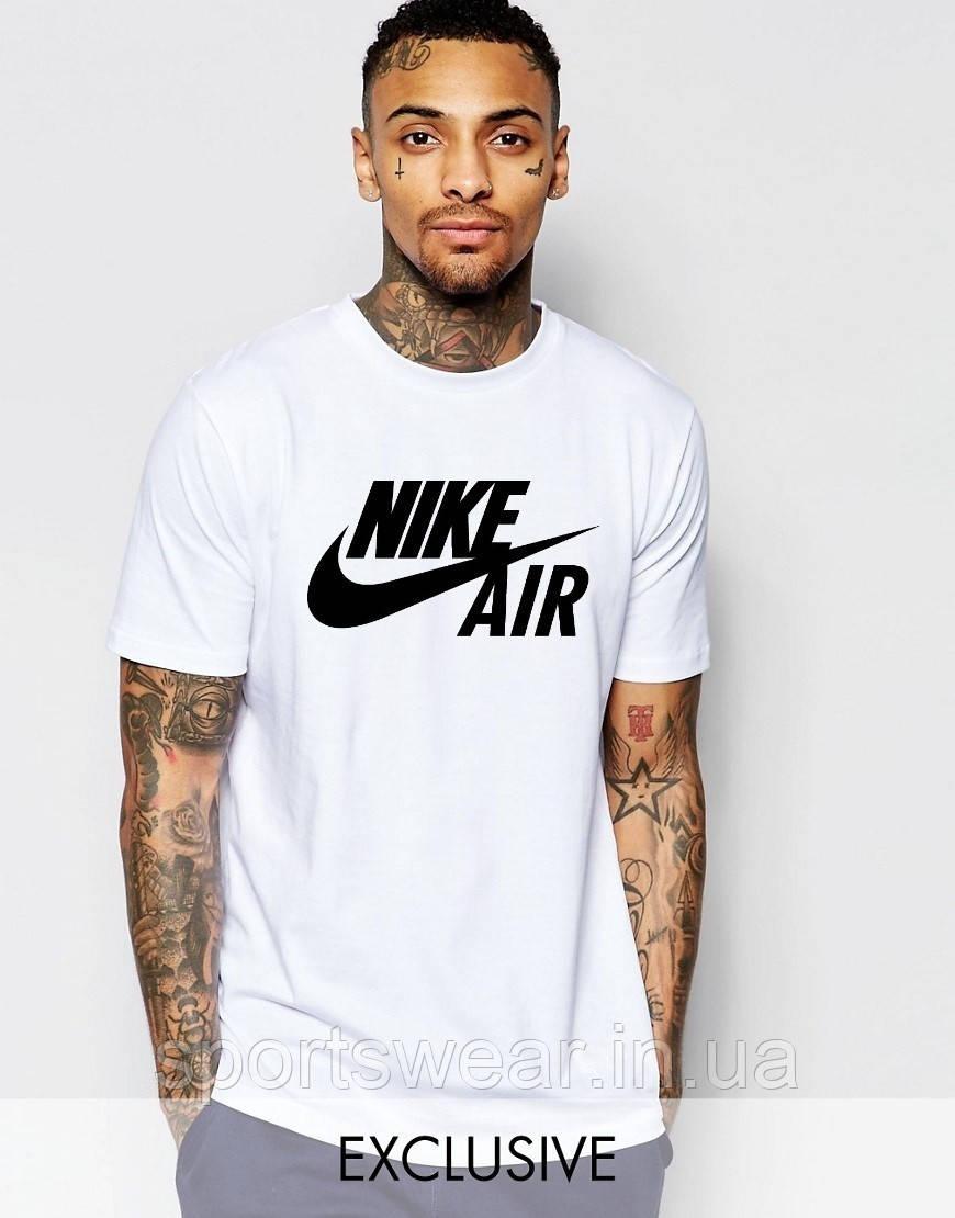 Футболка Nike   Найк Air белая