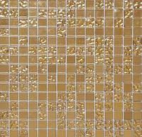 """Красивая стеклянная мозаика микс HL 98 """"под золото"""""""