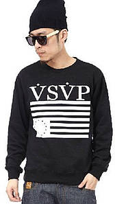 Свитшот черный мужской VSVP ASAP ROCKY | Кофта