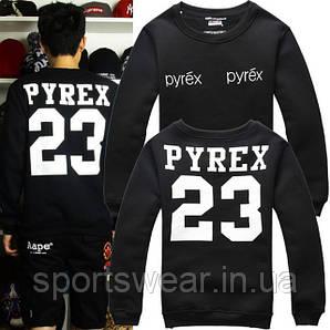 Свитшот черный мужской Пайрекс Пирекс Пюрекс 23 PYREX 23