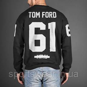 Свитшот черный мужской JAY-Z TOM FORD 61 MOLLY MAGNA CARTA TOUR | Кофта