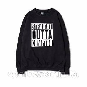 Свитшот черный мужской N.W.A: Straight Outta Compton | Кофта