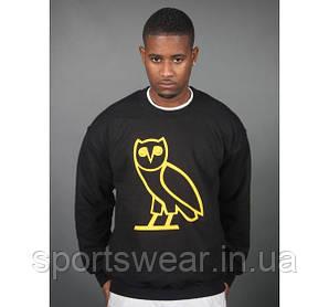 Свитшот черный мужской Drake OVO Owl | Кофта