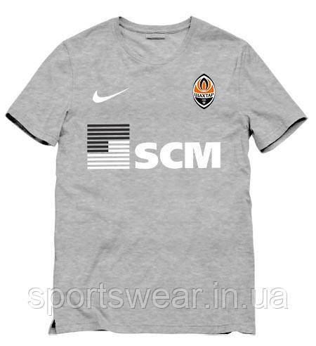 Клубная футболка ФК Шахтер мужская женская подростковая Спортивная футболка трикотаж лого футбольных клубов