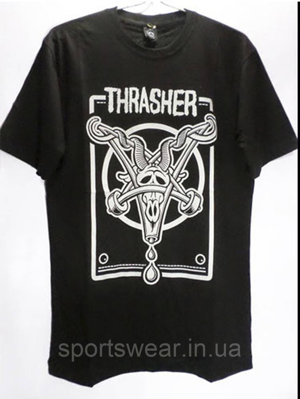 Футболка мужская Thrasher logo | Трешер Футболка