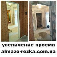 Расширение дверей