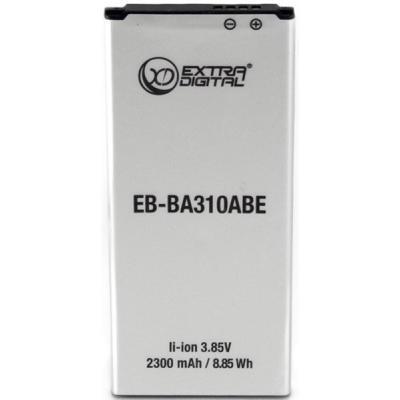 Аккумуляторная батарея для телефона EXTRADIGITAL Samsung Galaxy A3 2016 Duos (EB-BA110ABE) 2300 mAh (BMS6423)