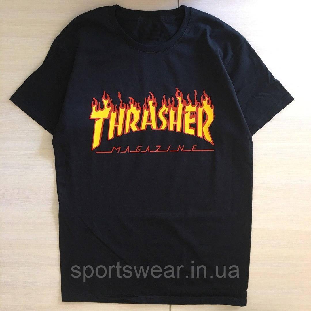 Футболка Thrasher мужская. Все размеры | Трешер Футболка
