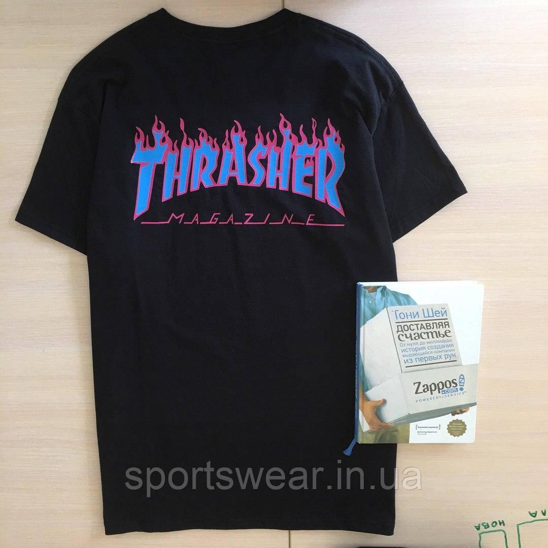 Футболка Thrasher Supreme Collab. Реальные фотки | Трешер Футболка